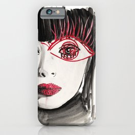 60s Eye Fashion Print iPhone Case
