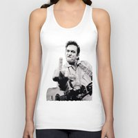 springsteen Tank Tops featuring Johnny Springstien by celesteolds
