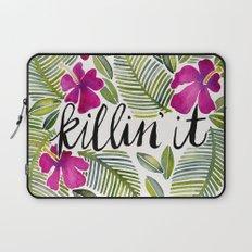 Killin' It – Tropical Pink Laptop Sleeve