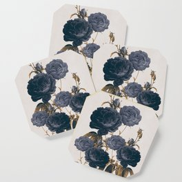 blue flowers Coaster