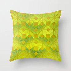 Undergrowth Throw Pillow
