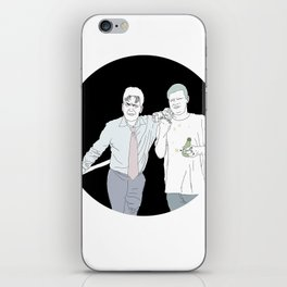 Yung Lean & Charlie Sheen iPhone Skin
