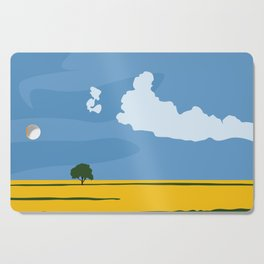 Wide Open Spaces Cutting Board