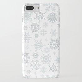 Snowflake pattern iPhone Case