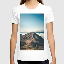 Mountains in the background XXII T-shirt
