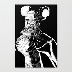 Vador Mouse Unmasked Canvas Print