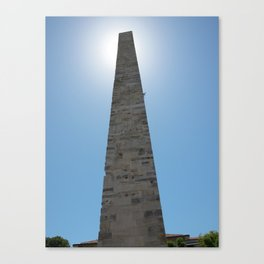 The Walled Obelisk in Istanbul, Turkey Canvas Print