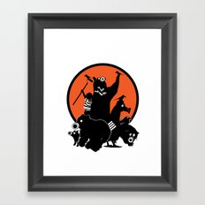 King of The Urban Jungle Framed Art Print