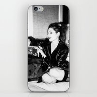 punk rock iPhone & iPod Skins featuring Punk Rock Girl by Penny Giforos