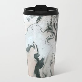 Abstract marble effect painting Travel Mug