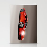 ferrari Stationery Cards featuring FERRARI 458 by MATT WARING