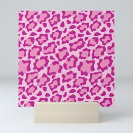 Pink Leopard Mini Art Print
