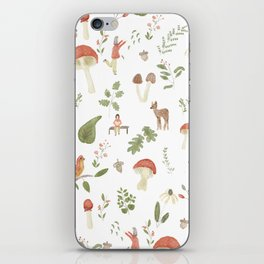 Forest Dream Pattern iPhone Skin