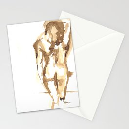 Gesture Drawing by David Mora Stationery Cards