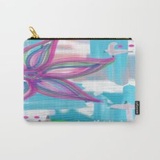 Easter Flower Carry-All Pouch