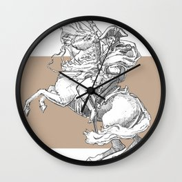 Riders of an art Wall Clock