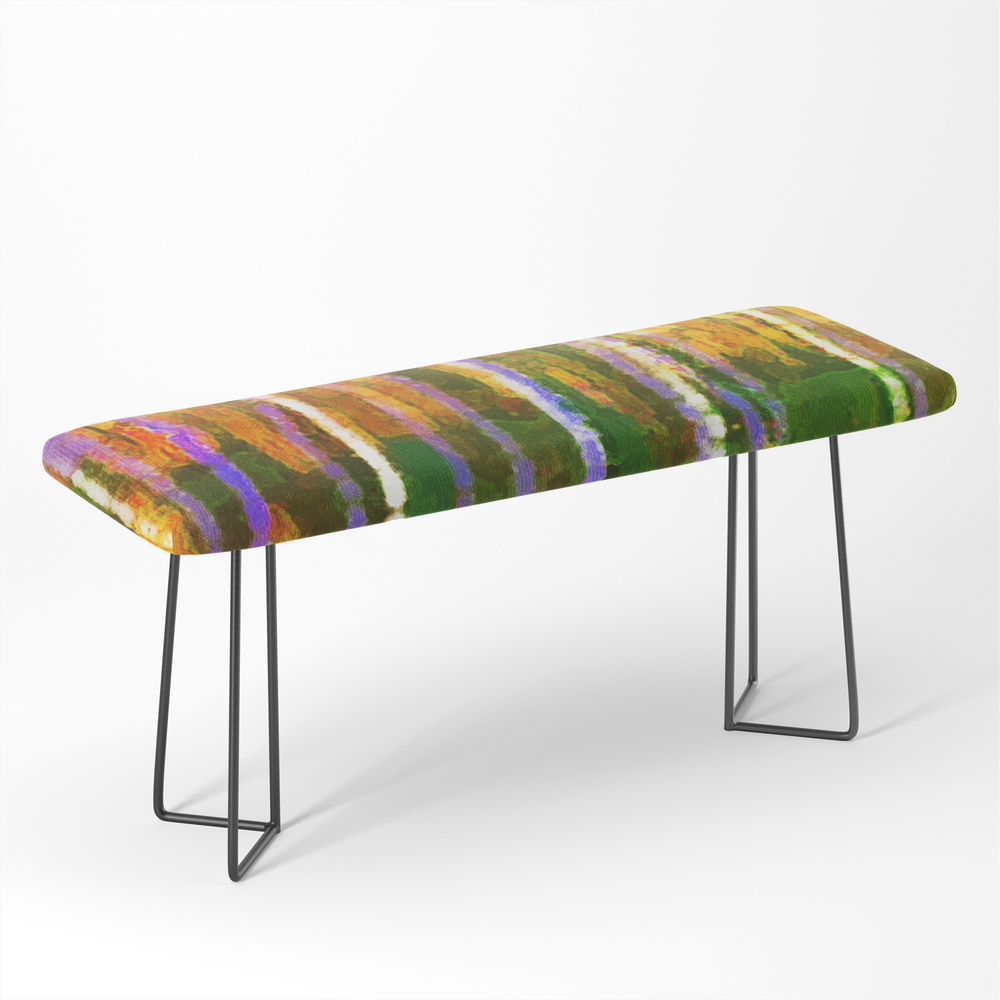 Colorful_Forest_Abstract_Triptych_Part_1_Bench_by_menegasabidussi