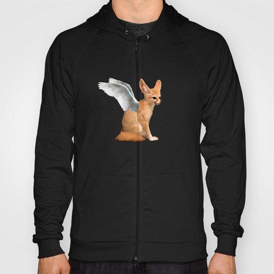 Winged Fennec Fox Hoody