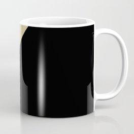 Gold meets Mint & Black Geometric #1 #minimal #decor #art #society6 Coffee Mug