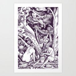 Sabbat Art Print