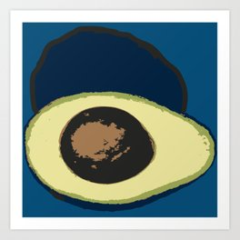 Life Cycle of an Avocado Art Print