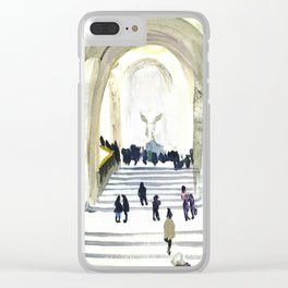 Musee du Louvre - Winged Victory Clear iPhone Case