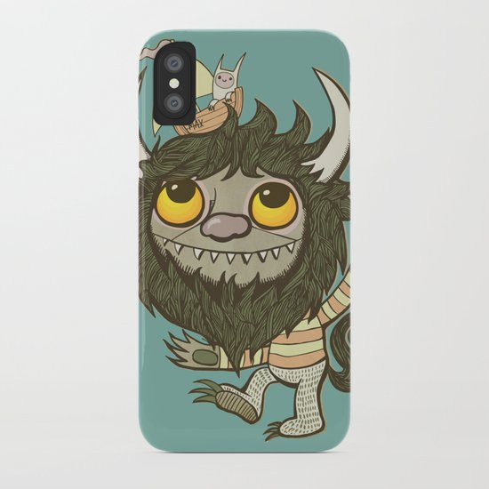 An Ode To Wild Things iPhone Case