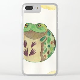 Toad In The Sky Clear iPhone Case