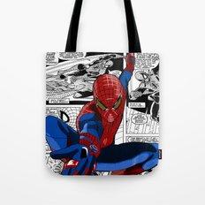 Spider-Man Comic Tote Bag