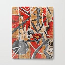 African Art 1 Metal Print