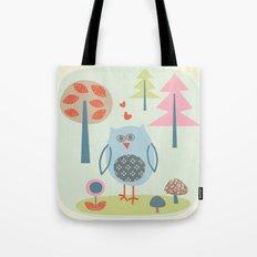 Bird in the Woods Tote Bag