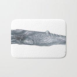 Gray Whale Bath Mat