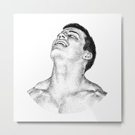 Stu NOODDOOD Metal Print