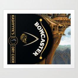 Bowcaster Dry Cider Art Print