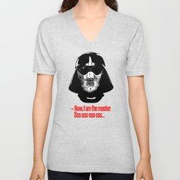 Darth Vader Hannibal Lecter mashup Unisex V-Neck