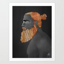 Beard Austin Art Print