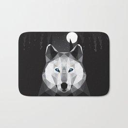 The Tundra Wolf Bath Mat