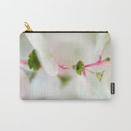 Tiny Trumpet Flower Carry-All Pouch
