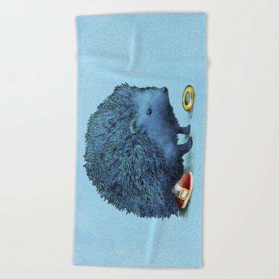 Sonic (color option) Beach Towel