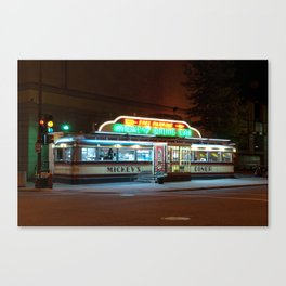 Mickey's Diner Canvas Print