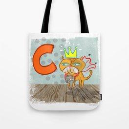 """""""C"""" Tote Bag"""