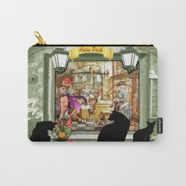 Bakery shop in old Amsterdam Carry-All Pouch