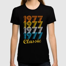 40th Birthday Gift Vintage 1977 T-Shirt for Men & Women T-Shirts and Hoodies T-shirt