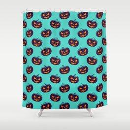 Scarry Halloween Pattern Shower Curtain