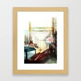 Clinical Infection Framed Art Print