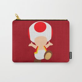 Red Toad (Super Mario) Carry-All Pouch