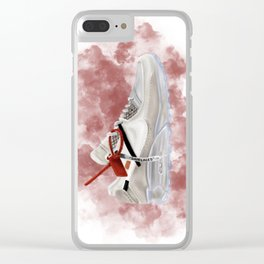 OFF WHITE MAX Clear iPhone Case