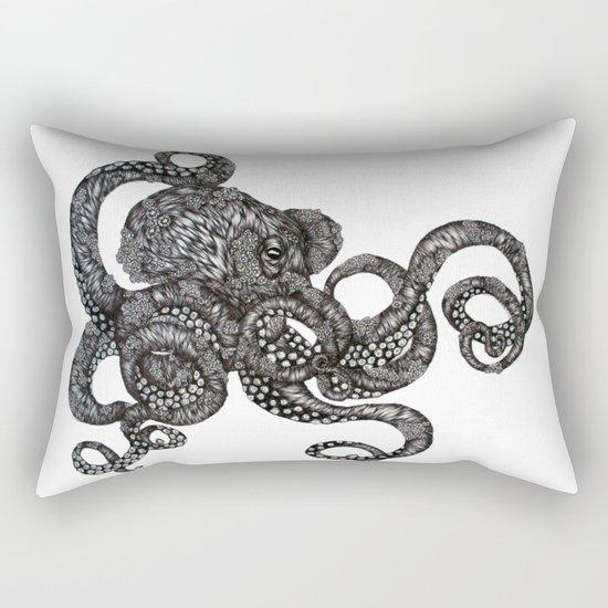 Barnacle Octopus Rectangular Pillow