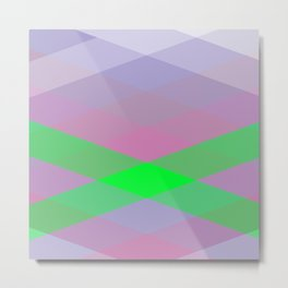 Geometric Abstract Color background #society6 #decor #buyart #artprint Metal Print