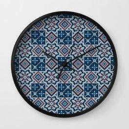 Pattern in Grandma Style #51 Wall Clock